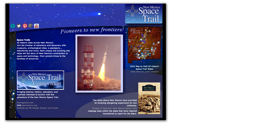 The Final Frontier: NM Space Trail Website