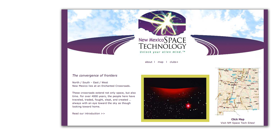 Out of this World: NM Space Tech Website
